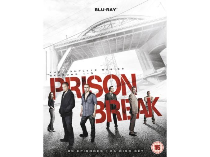 Prison Break: Complete Seasons 1-5 (Blu-ray)