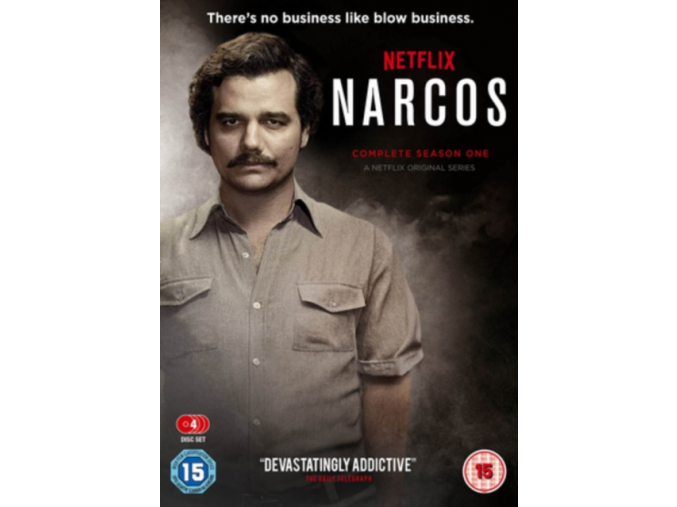 Narcos Season 1 (DVD)