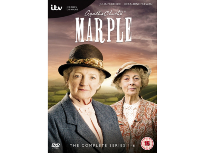 Marple: The Collection - Series 1-6 (DVD)