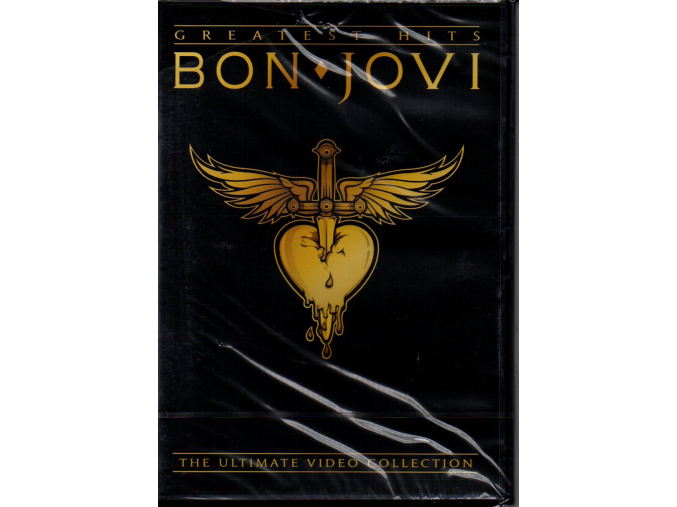dvd bon jovi greatest hits