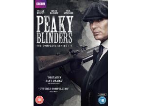 Peaky Blinders Series 1-4 (DVD Boxset)