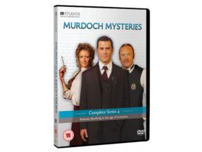 Murdoch Mysteries - Series 4 (DVD)