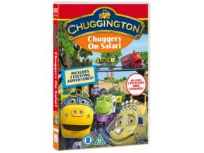 Chuggington - Chuggers On Safari (CBeebies) (DVD)