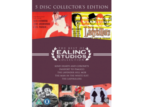 The Best Of Ealing Collection: KIND HEARTS AND CORONETS/THE LADYKILLERS/THE MAN IN THE WHITE SUIT/PASSPORT TO PIMLICO/THE LAVENDER HILL MOB (DVD)