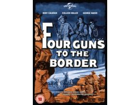 Four Guns To The Border (1954) (DVD)