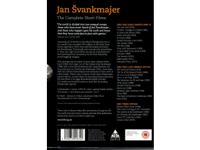Jan Svankmajer - The Complete Short Films 1964-1992 (3 Disc) (DVD)