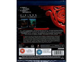 Vikings Complete Season 4 [Blu-ray] [2017]