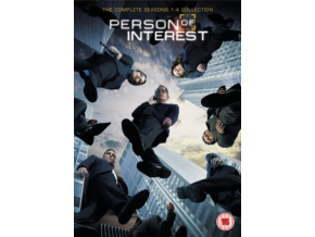 Person of Interest - Season 1-4 (DVD)
