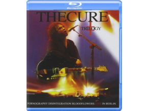 Cure - Trilogy - Pornography Disintegration Bloodflowers - Live In Berlin (Blu-Ray)