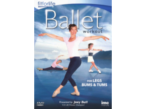 Ballet Workout – For Legs  Tums & Bums (DVD)