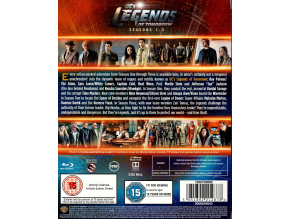 DC's Legends of Tomorrow: Season 1-3 [Blu-ray] [2018] (Blu-ray)