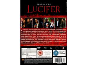 LUCIFER S1-3 [DVD] [2018]
