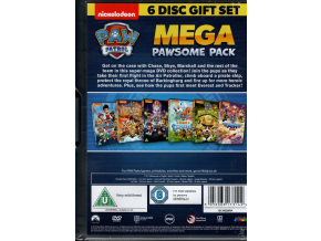 Paw Patrol- Megapawesome Pack (6-Title Boxset includes Colouring Book) [DVD] [2018]