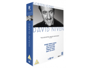 David Niven - Screen Icons Collection (Bonnie Prince Charlie  The Love Lottery  Happy Ever After  Eternally Yours and Happy Go Lovely) (DVD)