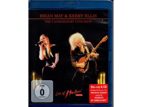 blu ray + cd brian may kerry ellis the candlelight concerts