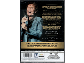 Cliff Richard 60th Anniversary Concert [DVD] [2018]