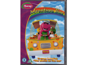 dvd barney adventure bus