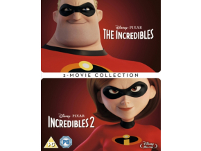Incredibles 1 & 2 Box set (Blu-ray) [2018] [Region Free]