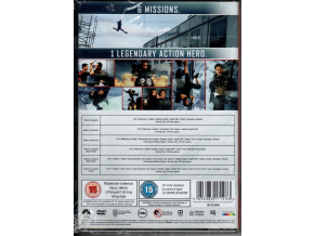 Mission: Impossible - The 6-Movie Collection (DVD) [2018]