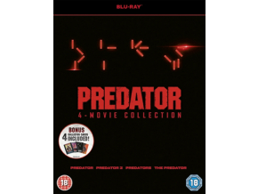 PREDATOR 1-4 BD (Blu-ray)