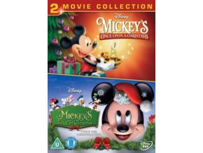 Mickeys Once Upon A Christmas & Mickeys Twice Upon A Christmas (DVD)
