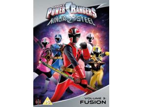 Power Rangers Ninja Steel: Fusion (Volume 3) Episodes 9-12 [DVD]