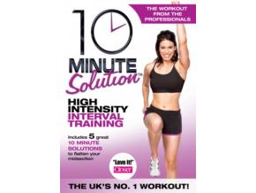 10 Minute Solution: High Intensity Interval Training (DVD)