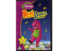 dvd barney read with me dance with me