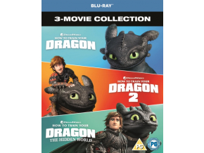 How To Train Your Dragon Collection (1-3) (Blu-ray)