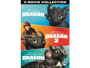 How to Train Your Dragon Collection (1-3) (DVD)