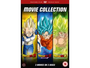 Dragon Ball Movie Trilogy (Battle Of Gods  Resurrection F Broly) [DVD]