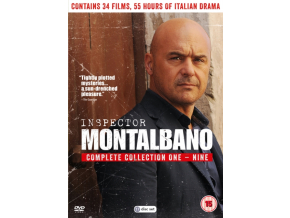 Inspector Montalbano Complete 1-9 Boxed Set (DVD)