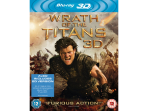 Wrath of the Titans (3D Blu-Ray )