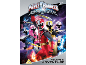 Power Rangers Ninja Steel: Adventure (Volume 5) Episodes 17-20 & Christmas (DVD)