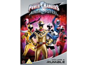 Power Rangers Ninja Steel: Rumble (Volume 4) Episodes 13-16 & Halloween (DVD)