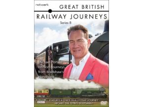 Great British Railways Journeys - The Complete Series 8 (DVD)