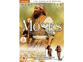 Moses The Lawgiver - The Complete Mini-series (DVD)