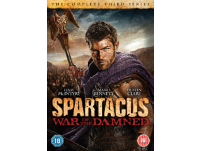 Spartacus: War of the Damned Season 3 (DVD)