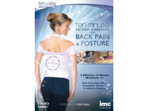 Back Pain & Posture Ten Minute Method Workouts (DVD)