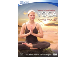 Yoga Towards A Stress Free Life - Jamie Heseltine - Fit for Life Series (DVD)