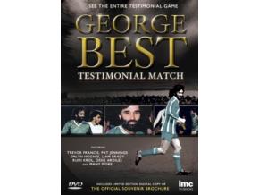George Best - Testimonial Match + Digital Copy Of Official Souvenir Brochure (DVD)