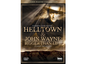 John Wayne - Hell Town / Bigger Than Life (DVD)