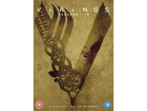 VIKINGS SEASONS 1-5 DVD