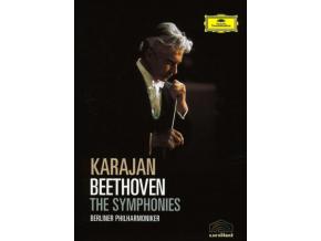Beethoven - The Symphonies (Von Karajan  Berliner PO) (DVD)