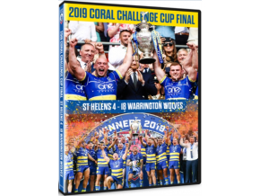 2019 Coral Challenge Cup Final – St Helens v Warrington Wolves (DVD)