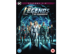 DC's Legends of Tomorrow: Season 1-4 [2019] (DVD)