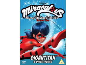 Miraculous: Tales of Ladybug and Cat Noir - Gigantian & Other Stories (DVD)