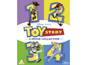 Disney & Pixar's Toy Story 1-4 [Blu-Ray]
