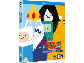 Adventure Time - Complete Seasons 1-5 Collection [Blu-Ray]