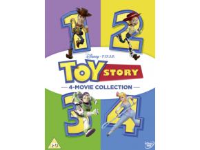 Disney & Pixar's Toy Story 1-4 (DVD)